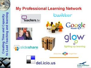 My Profesioanl Learning Network