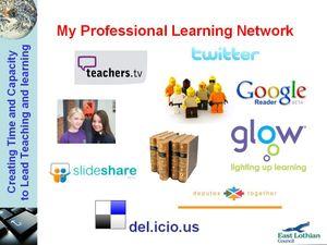 My Profesioanl Learning Network
