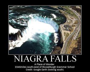Niagra Fall Motivator
