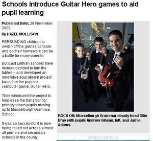 Edinburgh Evening News GH