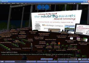 2008 edublog Awards final
