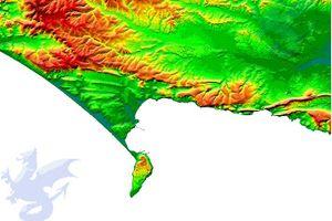 Dorset Digital Terrain