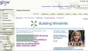 GLOW Building windmills