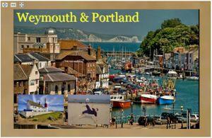 Deep zoom - weymouth postcard