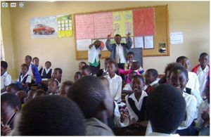 Deep zoom - african classroom