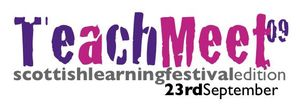 Teachmeet 09 Logo
