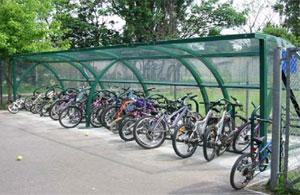 Bike lockers