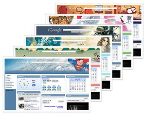 IGoogle Comic Themes