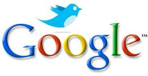 Google and twitter logo