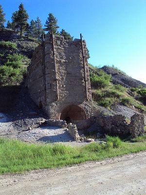 Old kilns outside Helena