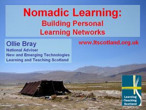 Nomadic Learning title slide