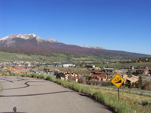 Looking back at Silverthorne