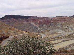 Mining near Silver City