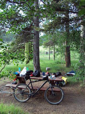 Campsite at Cochetopa Pass