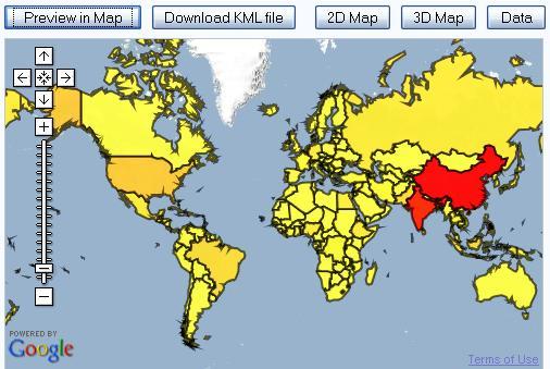 OllieBray com: Geography