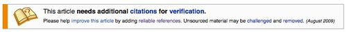 Wiki citations