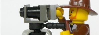 Lego camera man