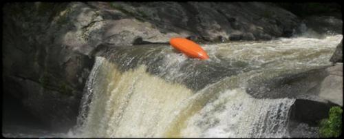Kayak whie water