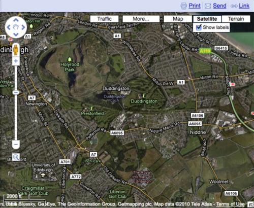 OllieBray com: Google Maps goes 'back to beta' (5 of 5