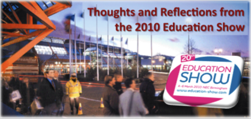 Education show banner