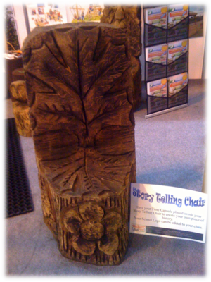 Story telling chair