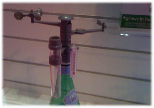 Bottle weather station