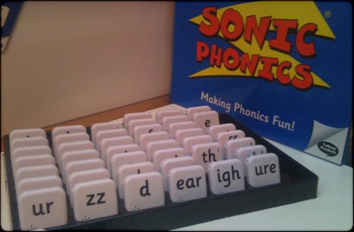 Sonic phonics