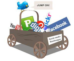 Social media bandwaggon