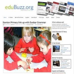 Edubuzz home page