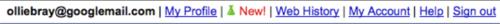 Top toolbar