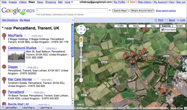 OllieBray com: Google Maps goes 'back to beta' (4 of 5