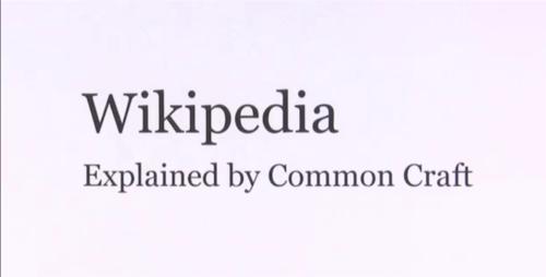 Wikipedia Commoncraft