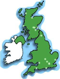 Disk golf locations UK