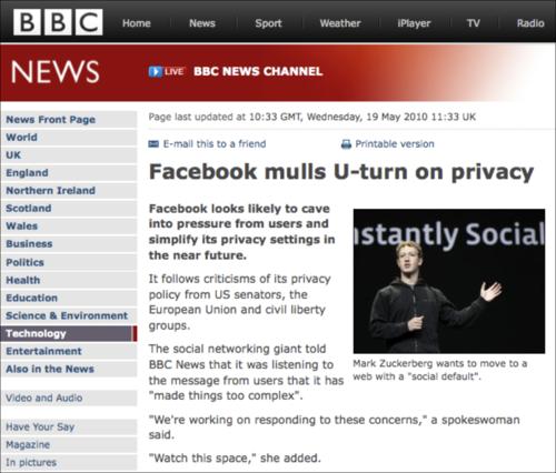 Facebook BBC