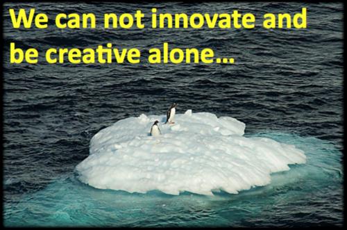 Innovate alone