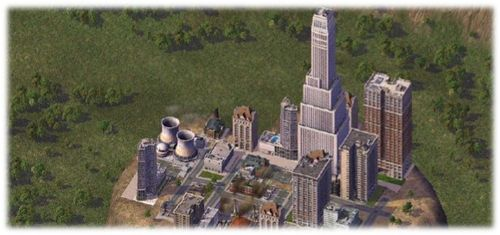 Sim City banner