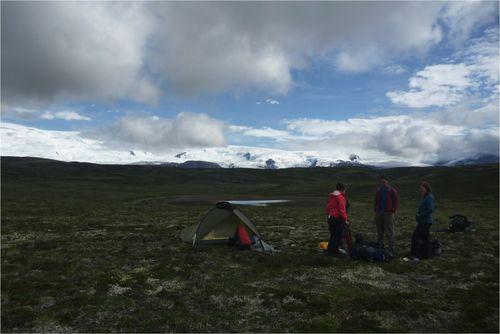 Plateau camp