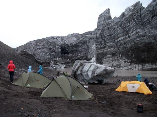 Ice cove camp