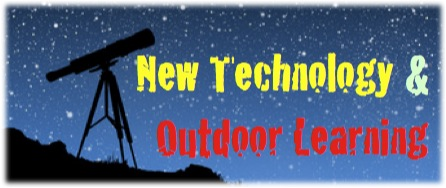 New tech outdoor learning banner