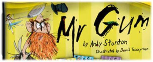 Mr Gum banner
