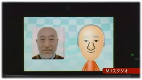Wii face Mii