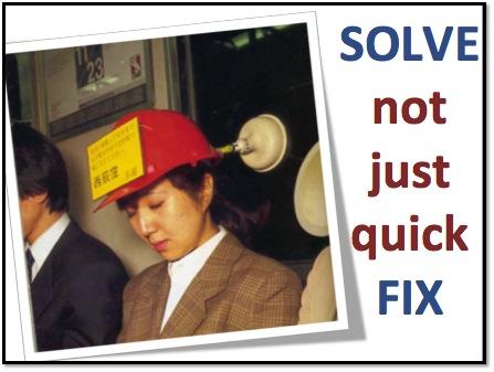 Solve not fix