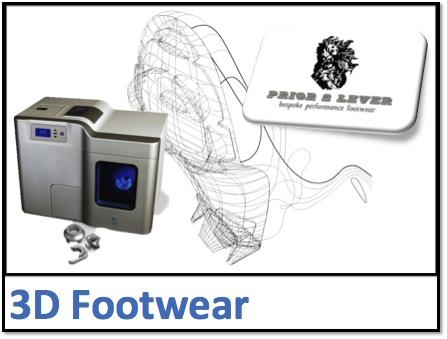 3D footwear