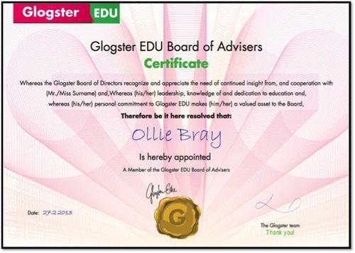 Glogster Board