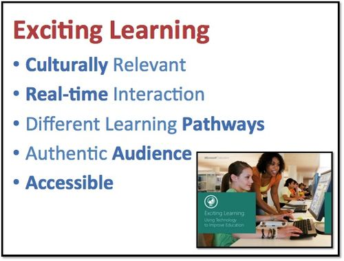Excitng Learning
