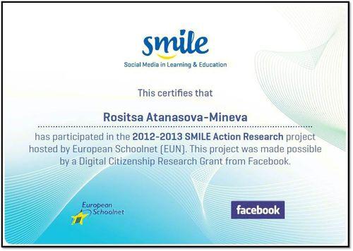 Rose Certificate