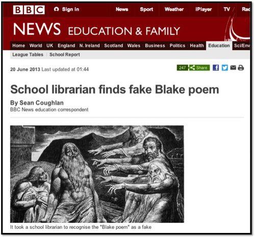 BBC Blake Poem