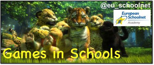 Games in Schools Logo
