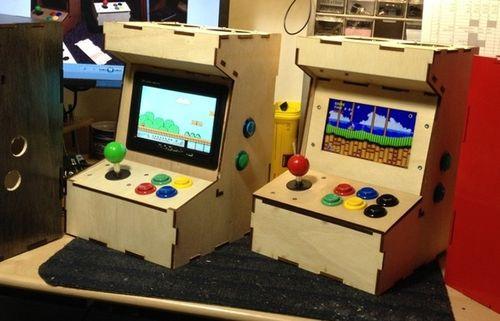 Porta-Pi-Raspberry-Pi-Mini-Arcade-Cabinet