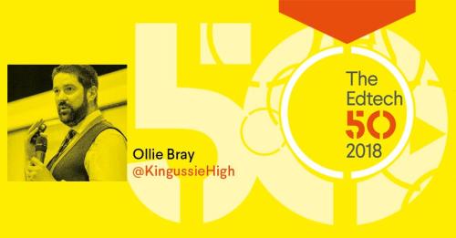 Ollie Bray Edtech50